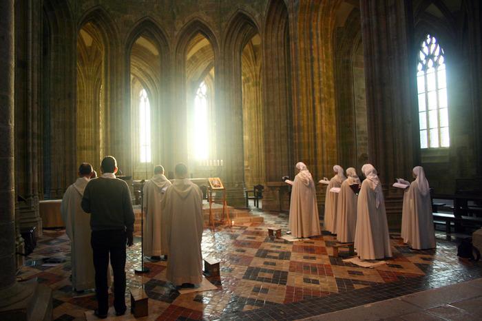 Fête de l'Assomption de la Vierge Marie Abbatiale du Mont-Saint-Michel