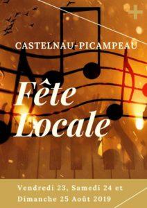Fête locale de Castelnau-Picampeau Village
