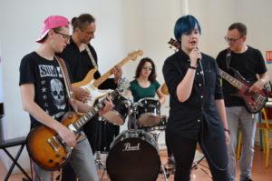 Musique Actuelle / rock du conservatoire de Charleville Mézières Forge Gendarme
