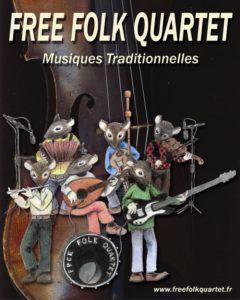Free Folk Quartet Parc Richard Pouille | Vandoeuvre-lès-Nancy
