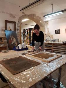 Atelier de restauration de tableaux Galerie-atelier de restauration de tableaux