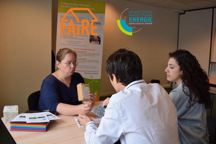 GPSO Energie - Permanence de l'Espace Conseil FAIRE à Vanves Centre Administratif Municipal de Vanves