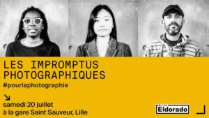 Impromptu photographique gare Saint Sauveur