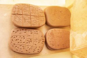 Initiation à l'Archéologie - Invention d'écritures