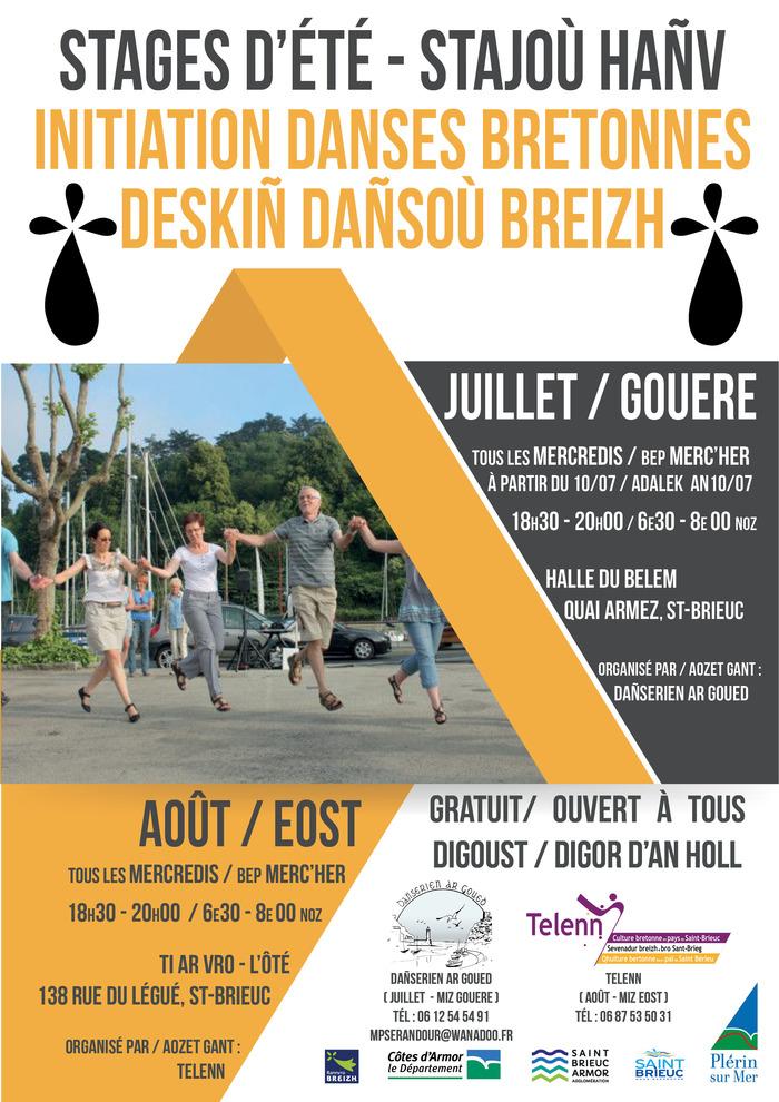 Initiation aux danses bretonnes Ti ar Vro-l'Ôté