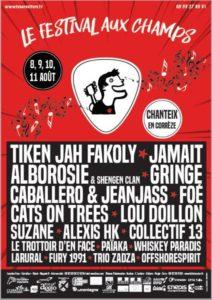 JEUDI 8 AOUT - Festival Aux Champs #32 Le bourg