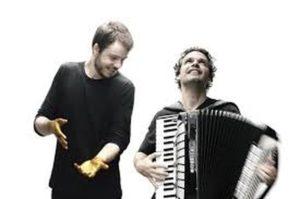Joao Cavalcanti et Mercelo Caldi péniche spectacle Jeudi 17 octobre