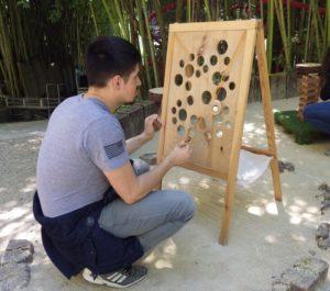 Jouez avec nous : jeux anciens en bois Eglise Saint-Pierre-Saint-Paul