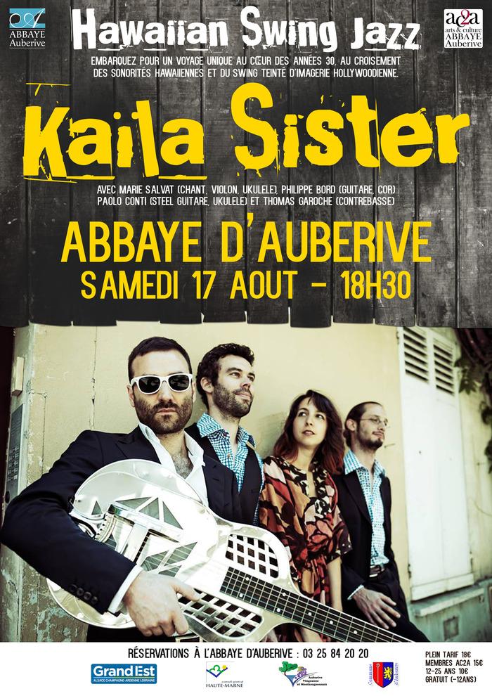 Kaïla Sister abbaye d'Auberive