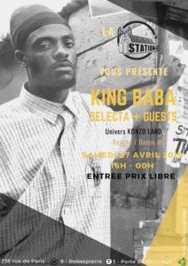 KONZO LAND x KING BABA Station E