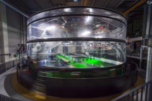 La plateforme CORIOLIS du LEGI : comment reproduire la turbulence des fluides en rotation Laboratoire LEGI