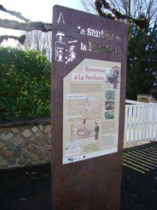 Circuit découverte du bourg sur la commune de La Porcherie La Porcherie