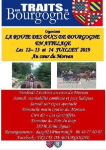 La Route des Ducs de Bourgogne en attelage Morvan