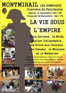 La vie sous l'Empire Les Remparts à Montmirail