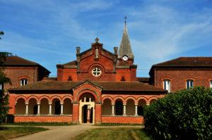 L'Abbaye et sa ferme Abbaye Notre-Dame des Dombes