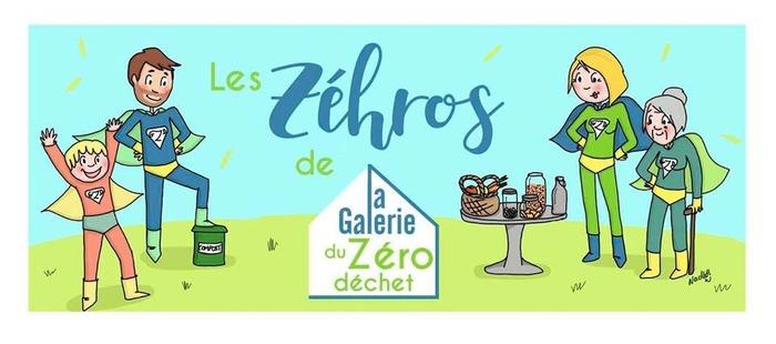L'apéro des Zéhros #4 La Galerie du Zéro Déchet (entrée Place Dulcie September)