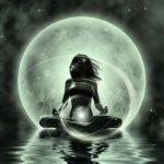 Méditation de Nouvelle Lune - Régénération de l'Utérus. Saint Gervais d'Auvergne