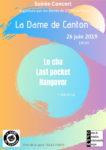 LE CHA + LAST POCKET + HANGOVER La Dame de Canton