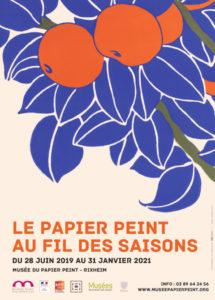 Le papier peint au fil des saisons Musée du Papier peint