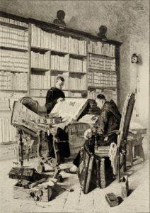 Le patrimoine écrit des bibliothèques en proie aux délits et aux intempéries Médiathèque Jean-Jacques Rousseau