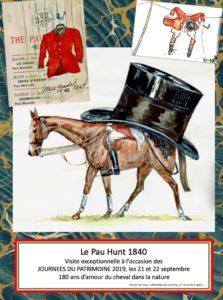 Le Pau Hunt 1840 Ville de Pau