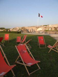 Lecture au musée du fort de la Pompelle Musée du fort de la Pompelle
