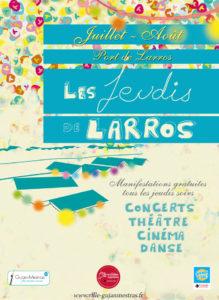 LES JEUDIS DE LARROS Les Jeudis de Larros - Gujan Mestras Port de Larros