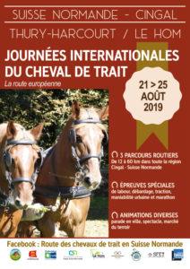 Les journées du cheval de trait en Suisse Normande 14220 LE HOM