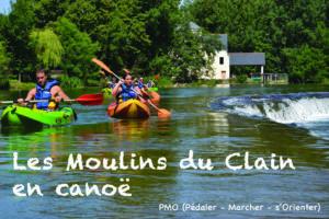 Les Moulins du Clain en Canoë Moulin des Coindres
