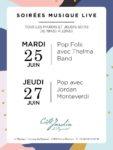 Les soirées Musique Live du Pigonnet: Jordan Monteverdi Le Pigonnet