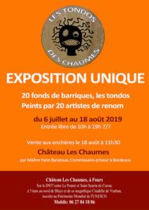 Les Tondos des Chaumes Château les Chaumes