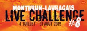 Live Challenge : 8ème édition du festival de musique à Montbrun Lauragais Commune de Montbrun-Lauragais
