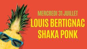 Louis Bertignac / Shaka Ponk La Halle de Martigues