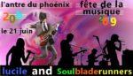 Lucile Hazou / Soul Blade Runners L'Antre du Phoenix