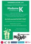 Madame K au Fait-Tout Café associatif Le Fait-Tout