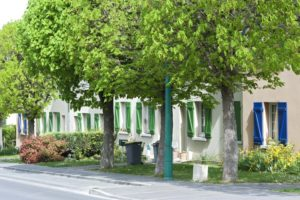 Exposition sur l'histoire de la construction de la cité-jardin du Chemin-Vert Maison commune du Chemin vert