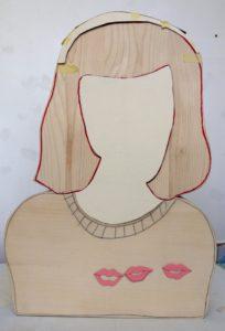 """Visite libre de l'exposition """"J'aime le rose pâle et les femmes ingrates"""" de Sarah Tritz Manufacture des œillets - Centre d'art contemporain - Le Crédac"""