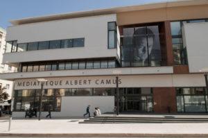 Visite-découverte de l'espace Patrimoine Médiathèque albert camus
