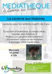 La caverne aux histoires Médiathèque La Bernardière