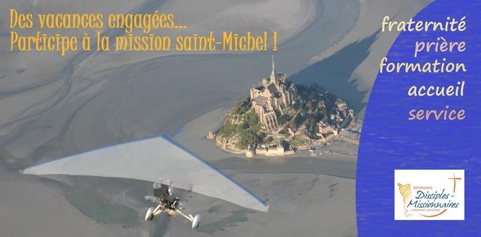 Mission Saint Michel Abbatiale du Mont-Saint-Michel