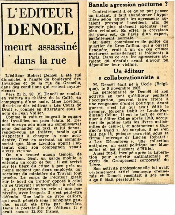 Robert Denoël