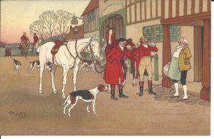 HARRY ELIOTT Gentleman Illustrateur Musée de la carte postale