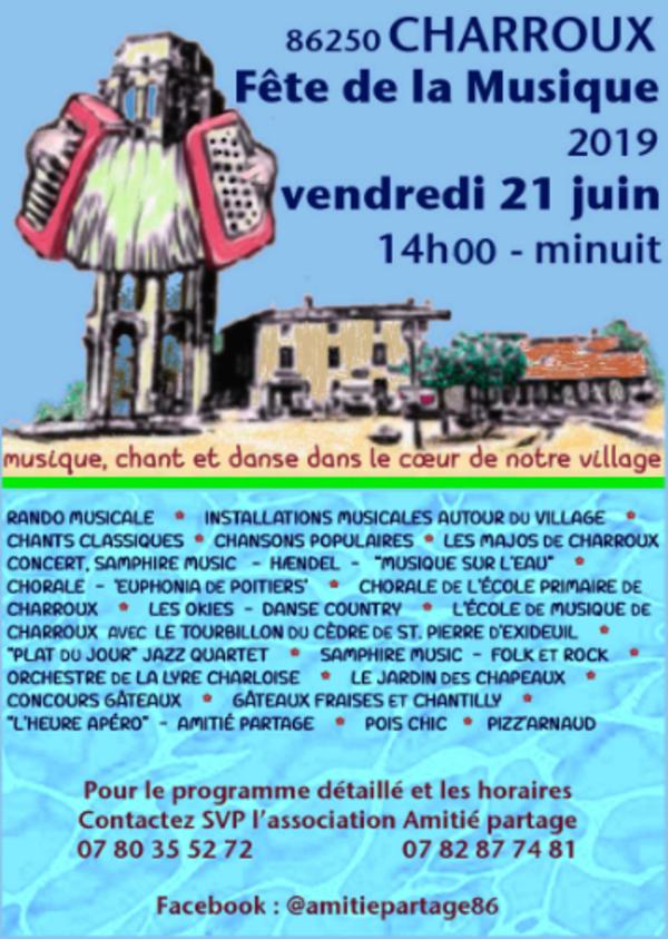 Musique Chant et Danse place St Pierre
