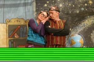 Mystère et boule d'atome par la compagnie de théâtre Soleil Nuit Médiathèque de Castres