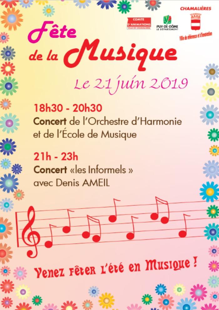Orchestre d'Harmonie et école de musique + Les Informels Mairie de Chamalières