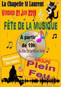 Orchestre Plein Feu La Vallée Verte