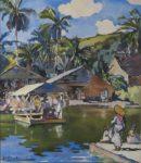 Panorama des Beaux-Arts du XVIe siècle à nos jours privilégiant les artistes liés à la Guadeloupe. Peintures