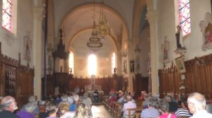 Parenthèse musicale Eglise d'Arbignieu