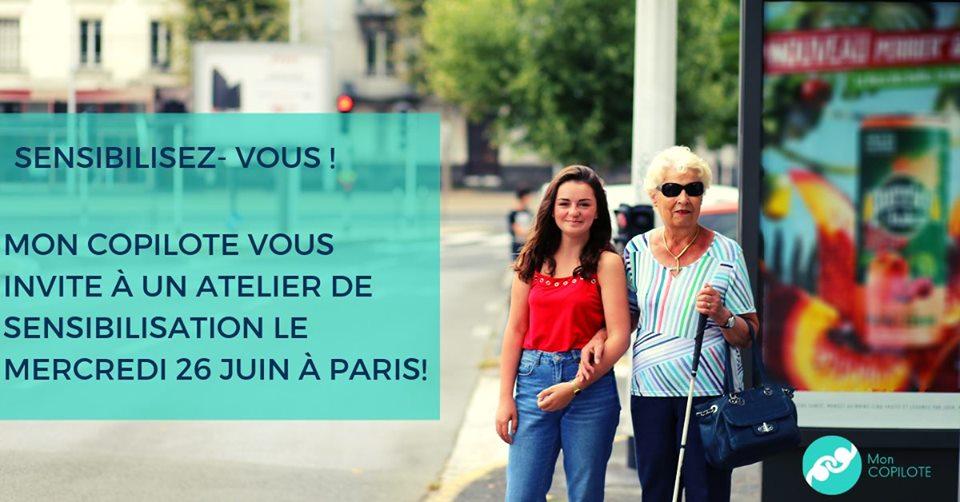 Paris en Compagnie de mon Copilote