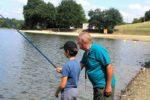 Pêche à la ligne Etang de la Forge